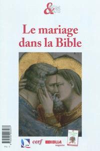 Le mariage dans la Bible