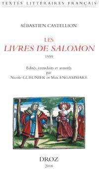 Les Livres de Salomon (Proverbes, Ecclésiaste, Cantique des cantiques), 1555