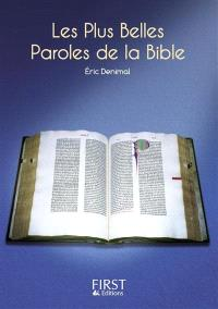 Les plus belles paroles de la Bible