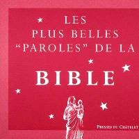 Les plus belles paroles de la Bible