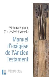 Manuel d'exégèse de l'Ancien Testament