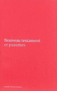 Nouveau Testament et Psaumes : couverture vinyle rose