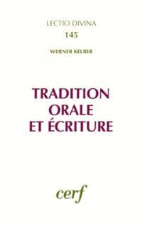 Tradition orale et Ecriture