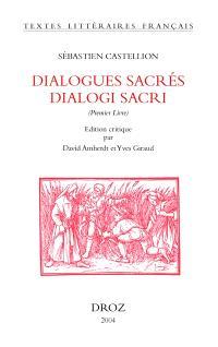Dialogues sacrés : premier livre = Dialogi sacri