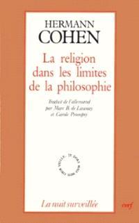 La religion dans les limites de la philosophie