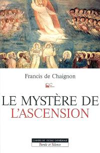 Le mystère de l'Ascension