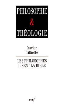 Les philosophes lisent la Bible