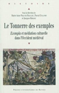 Le tonnerre des exemples : exempla et médiation culturelle dans l'Occident médiéval