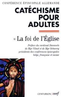 Catéchisme pour adultes. Volume 1, Catéchisme pour adultes