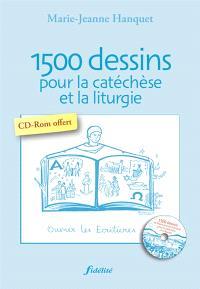 1.500 dessins pour la catéchèse et la liturgie