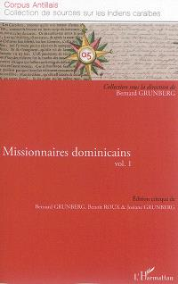 Missionnaires dominicains. Volume 1