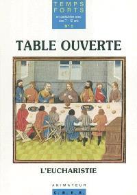 Table ouverte, l'eucharistie : temps fort pour Pâques : animateur