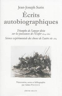 Ecrits autobiographiques