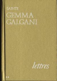 Lettres de sainte Gemma Galgani