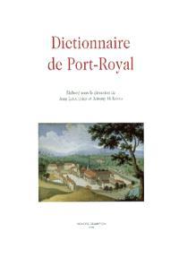 Dictionnaire de Port-Royal