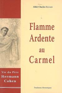 Flamme ardente au Carmel : vie de Hermann Cohen, en religion père Augustin-Marie du Très-Saint Sacrement, carme déchaussé