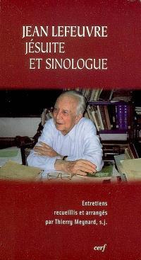 Jean Lefeuvre, jésuite et sinologue