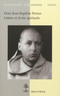 Lettres et écrits spirituels