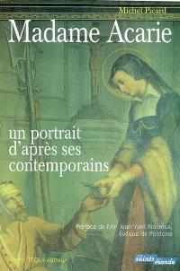 Madame Acarie : un portrait d'après ses contemporains