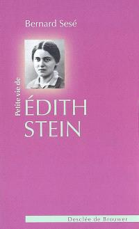 Petite vie de Edith Stein