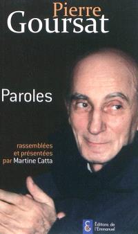 Pierre Goursat : paroles
