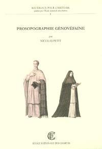 Prosopographie génovéfaine : répertoire biographique des chanoines réguliers de Saint-Augustin de la Congrégation de France, 1624-1789