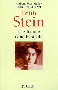 Edith Stein, une femme dans le siècle
