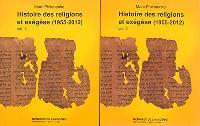 Histoire des religions et exégèse, 1955-2012 : recueil des articles de Marc Philonenko