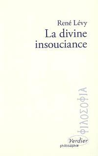 La divine insouciance : étude des doctrines de la providence d'après Maïmonide