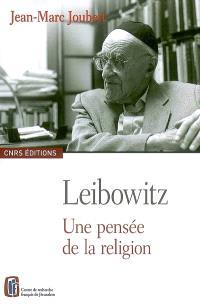 Leibowitz, une pensée de la religion