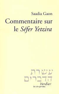 Commentaire sur le Sefer Yetzira