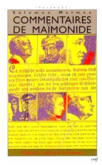 Commentaires de Maïmonide