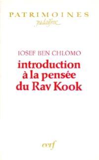 Introduction à la pensée du Rav Kook