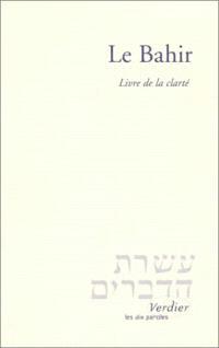 Le Bahir : le livre de la clarté