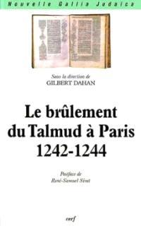 Le brûlement du Talmud à Paris 1242-1244