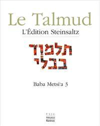 Le Talmud. Volume 14, Baba Metsi'a 3