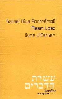 Meam Loez : livre d'Esther