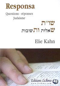 Responsa : questions-réponses judaïsme