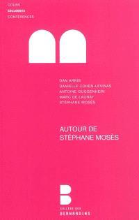 Autour de Stéphane Mosès : enjeux de culture : journée d'hommage à Stéphane Mosès organisée au Collège des Bernardins, 19 mars 2010