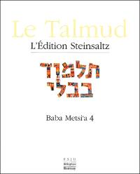 Le Talmud. Volume 16, Baba Metsi'a 4