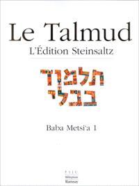 Le Talmud. Volume 11, Baba Metzia 1
