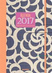 Agenda 2017 : rêveries lunaires