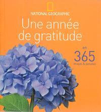Une année de gratitude : en 365 images & pensées