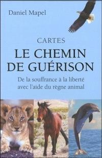 Cartes le chemin de guérison : de la souffrance à la liberté avec l'aide du règne animal