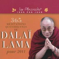 365 méditations quotidiennes du Dalaï-Lama pour 2011