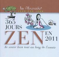 365 jours zen en 2011 : se sentir bien tout au long de l'année