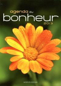 Agenda du bonheur 2013