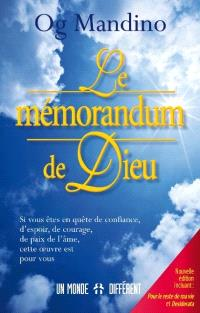 Le mémorandum de Dieu