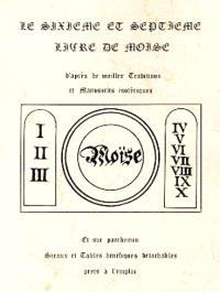 Le Sixième et septième livre de Moïse