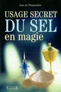 Usage secret du sel en magie